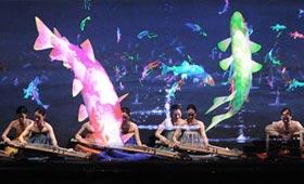 4D digilog Art Performance – UNESCO