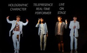 Holographic Telepresence R&D #2